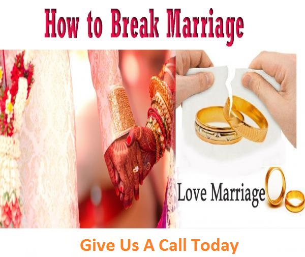 how to break marriage